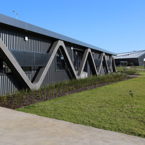 Otway Precast beams for Surf Coast Secondary College design