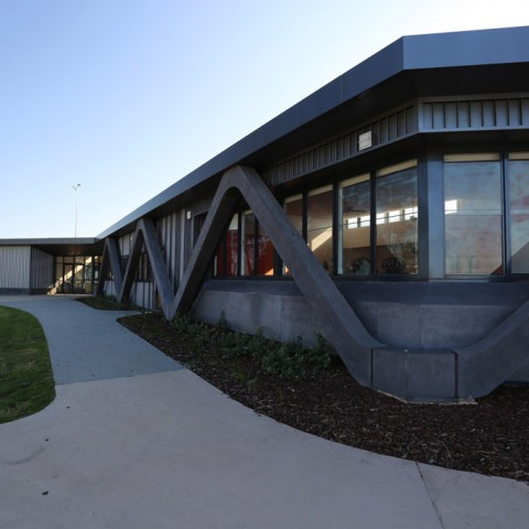 Precast concrete design for Surf Coast Secondary College