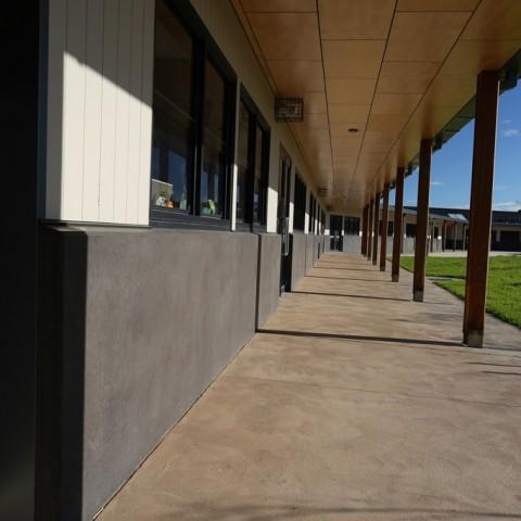 Surf Coast Secondary College precast concrete design