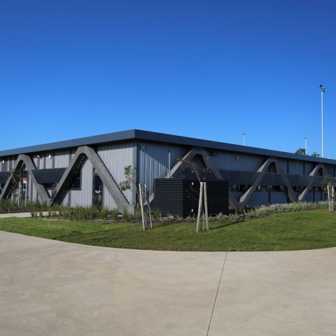 Surf Coast Secondary College project by Otway Precast