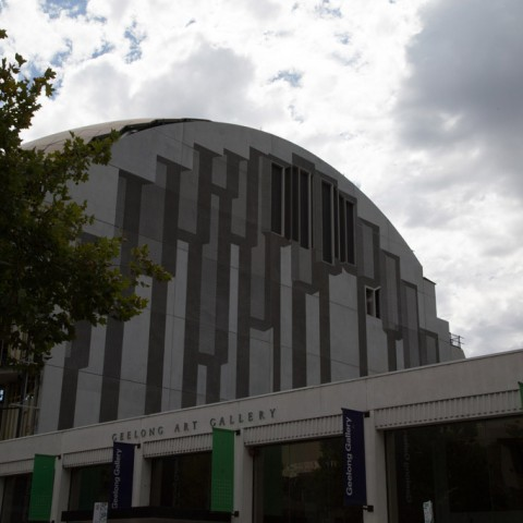 Geelong Library view from the front