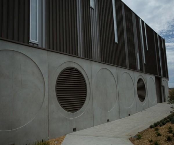 Bluewater Fitness Centre precast panel design
